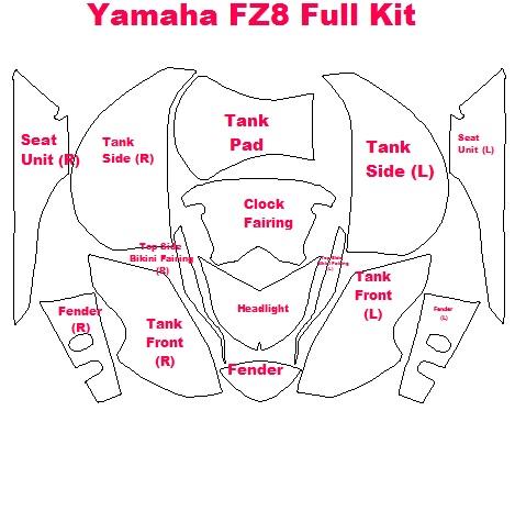 Yamaha FZ8 MY11 on
